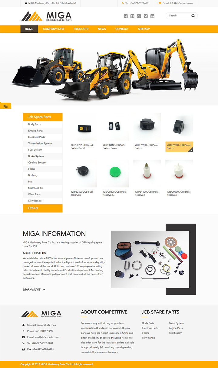 MIGA Machinery Parts Co.,ltd