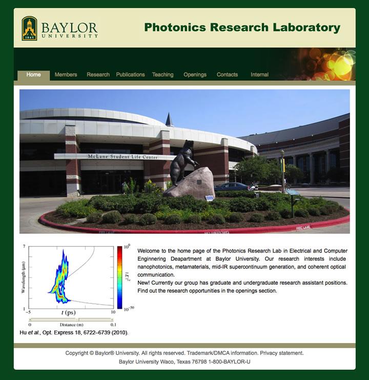 Photonics Research Lab