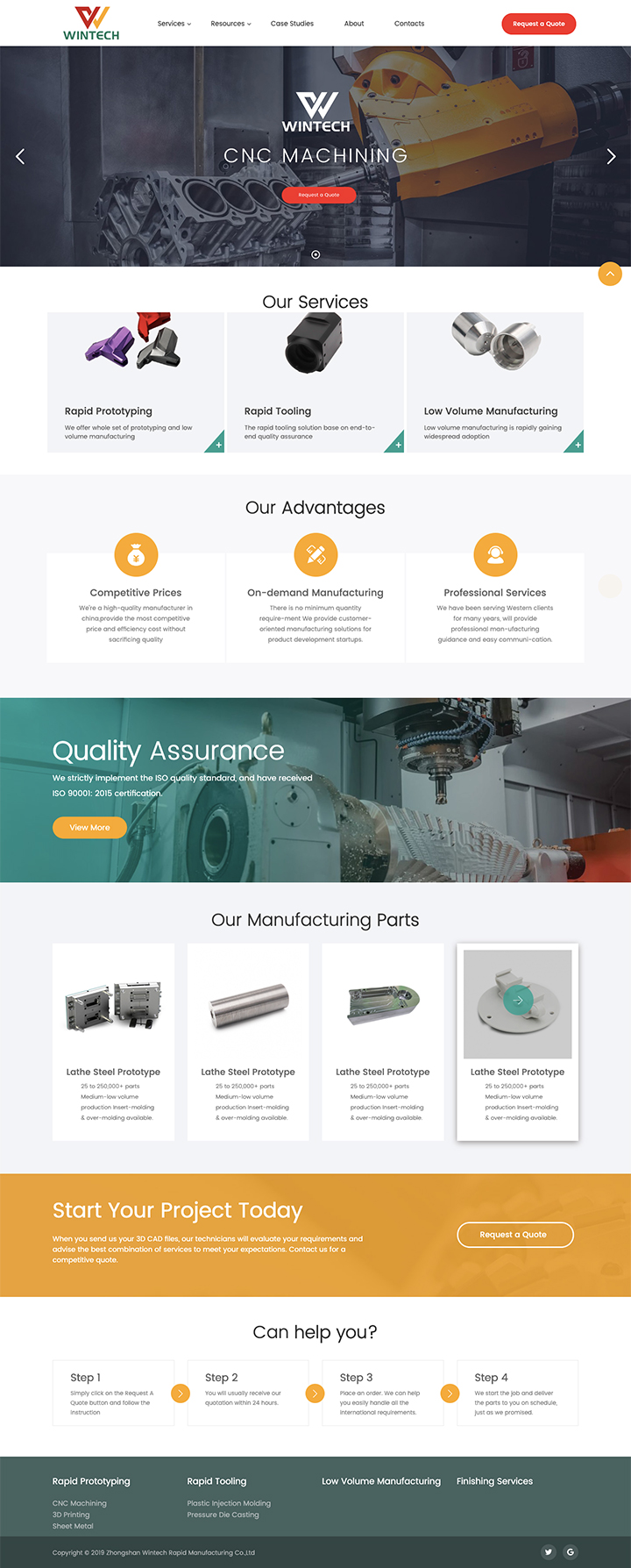 Zhongshan Wintech Rapid Manufacturing Co.,Ltd