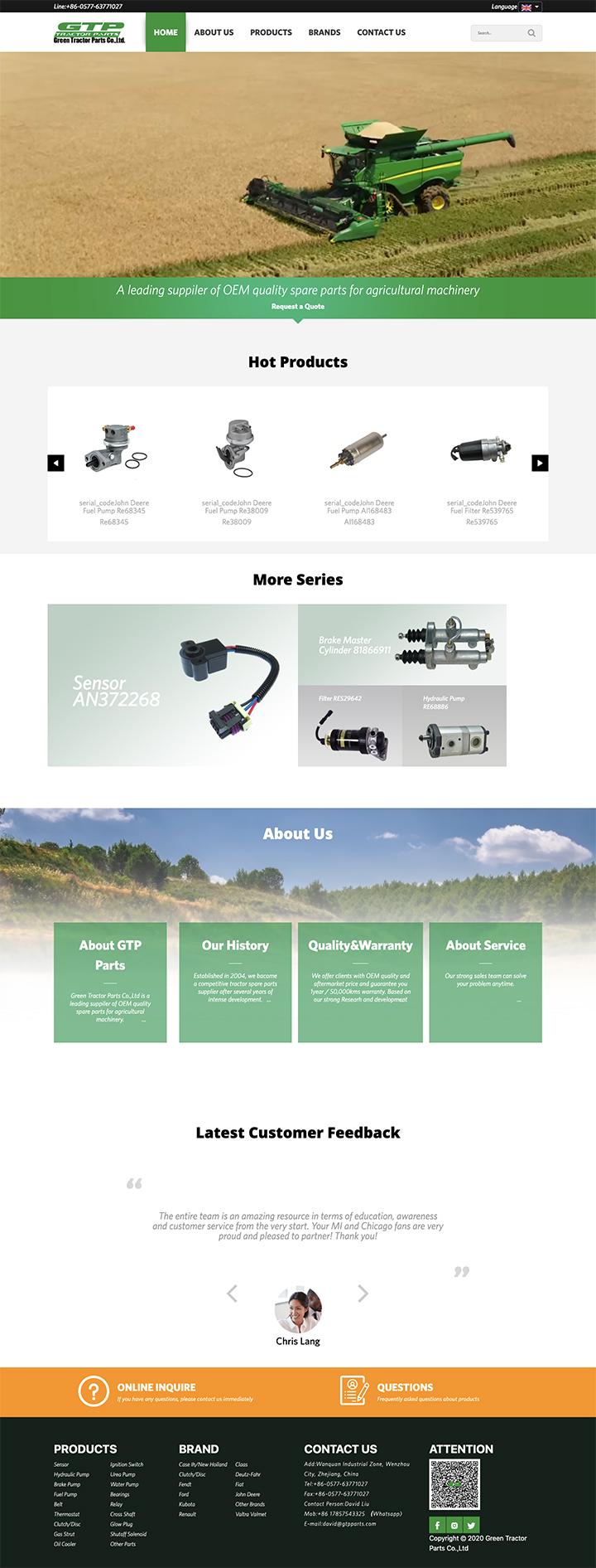 Green Tractor Parts Co.,Ltd