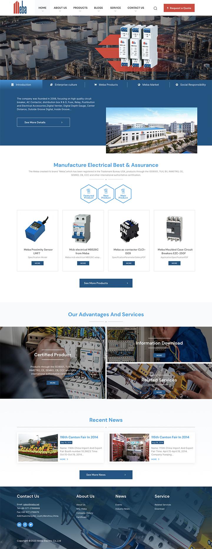 Meba Electric Co.,Ltd