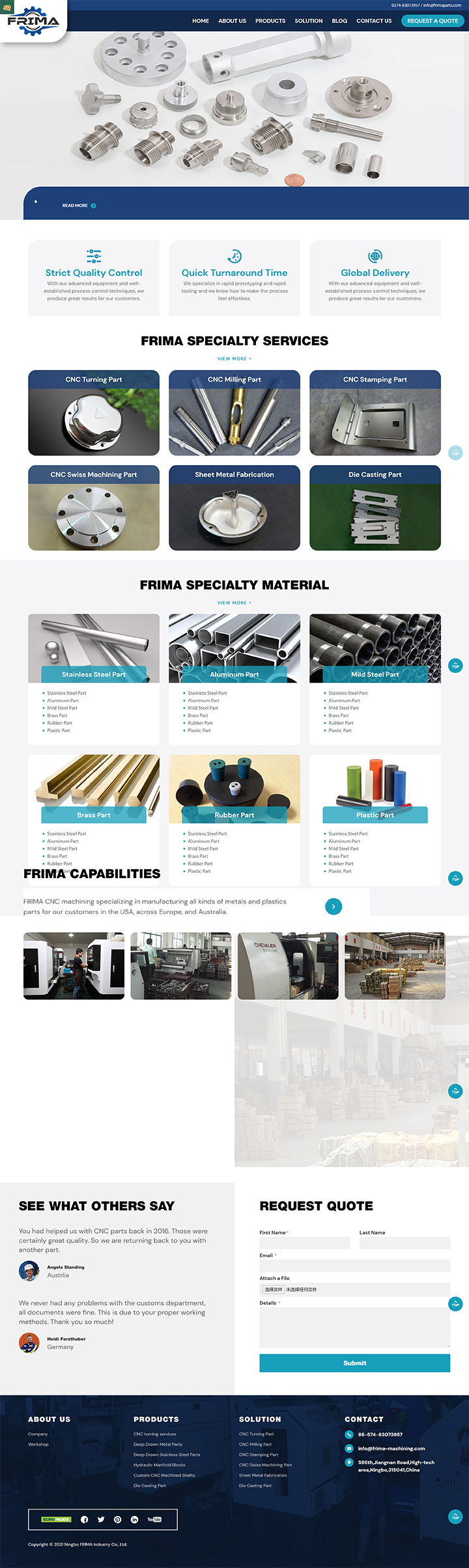 Ningbo FRIMA Industry Co., Ltd.